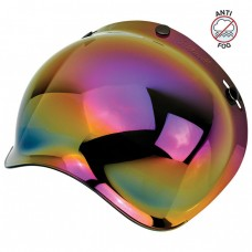 Biltwell Bubble Shield Anti-Fog - Rainbow Mirror