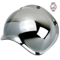 Biltwell Bubble Shield Anti-Fog - Chrome Mirror