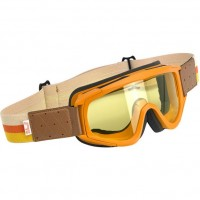 Overland Goggle - Orange/Brown