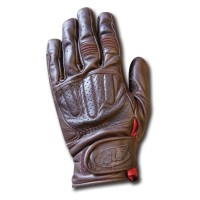 Roland Sands Barfly Brown Gloves