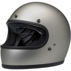 Biltwell Gringo ECE Helmet- Flat Titanium