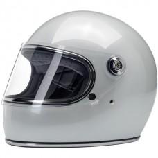 Biltwell Gringo S Helmet - Metallic Pearl White ECE