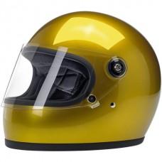 Biltwell Gringo S Helmet - Metallic Yukon Gold ECE