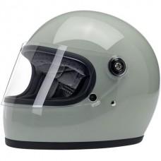 Biltwell Gringo S Helmet - Gloss Sage Green ECE