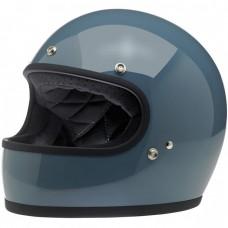 Biltwell Gringo Helmet - Gloss Baja Blue