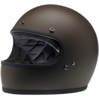 Biltwell Gringo Helmet- Flat Chocolate