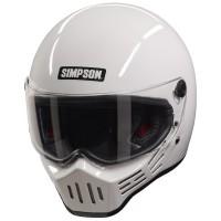 Simpson M30 Bandit Helmet - Gloss White