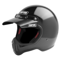 Simpson M50 Helmet with Visor - Flat Black