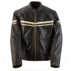 Black Brand Men's Cutthroat Stealth Leather Jacket