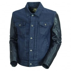 Roland Sands Honcho Leather - Denim