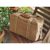 The Small Waxed Canvas Traveler