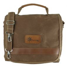 The Small Waxed Canvas Messenger Bag