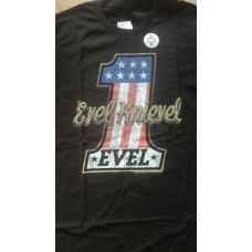 Evel Knievel ONE T-shirt - Black