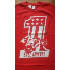 Evel Knievel T-Shirt Red