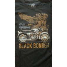 Black Bomber T-Shirt