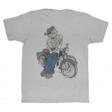 Popeye Vintage motorcycle Tshirt