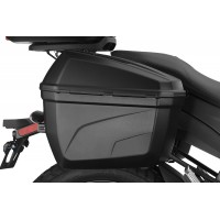 Zero 22-Liter Side Cases by GIVI and Rack Kit